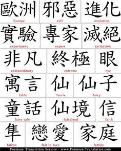 Эскизы японских татуировок иероглифы