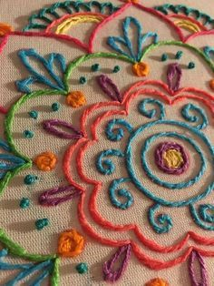 This post was discovered by Top Embroidery Design. Discover (and save!) your own Posts on Unirazi. Bordado mexicano by rosalind Crewel Embroidery - Long & Short as Soft Shading in Colors - Embroidery Patterns Mexican Embroidery, Crewel Embroidery Kits, Hand Embroidery Patterns, Ribbon Embroidery, Cross Stitch Embroidery, Embroidery Tools, Custom Embroidery, Brazilian Embroidery, Embroidery Techniques