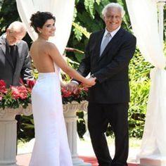"""Vestido de casamento de Aline em """"Amor à Vida"""""""