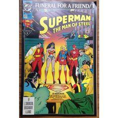 Superman The Man of Steel #20 DC Comic Book