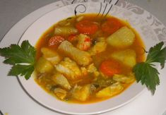 Seafood Recipes, Cooking Recipes, Greek Recipes, Ratatouille, Thai Red Curry, Shrimp, Fish, Ethnic Recipes, Soups