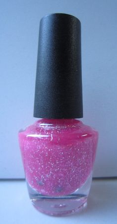 Barbie Pink Custom Made Franken #nailpolish #nailart #customnail #glitter #glitteraddict #frankenpolish #sparkle