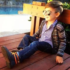 Aviators for kids. Adorable! Boys fashion.