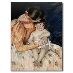Mother and Her Child by Mary Cassatt Post Card