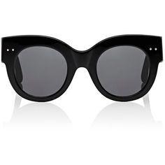 Bottega Veneta Women's Cat-Eye Sunglasses ($249) ❤ liked on Polyvore featuring accessories, eyewear, sunglasses, black, logo sunglasses, bottega veneta, cat eye sunglasses, bottega veneta sunglasses and bottega veneta eyewear