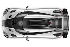 """Koenigsegg One:1 : """"megacar"""""""