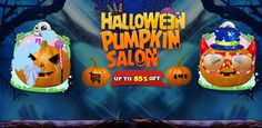 Let's think different in this Halloween holiday, customize this #sourcecode to make a Pumpkin Salon #game and earn #money from it.