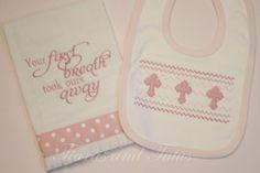 Baby Gift Burp Cloths Christian Baby Gifts by elainestiarasntutus