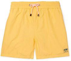 bd8ecbed57739 Mustique Pink House Mid-Length Swim Shorts