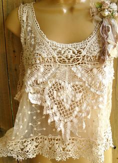 From doilies~Visit www.lanyardelegance.com for beautiful Beaded Lanyards and Crystal Eyeglass Holders for women.