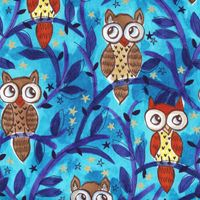 Moonlit Owls