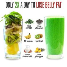 Delicious, Easy-To-Make Smoothies For Rapid Weight Loss, Increased Energy,  Incredible Health!  #smoothiediet #smoothierecipes #weightlosstransformation #weightlossjourney #losingweight #weightlosschallenge  #weightlossrecipes#weightlossprogram #weightlossmeals #weightlossdiet #weightlossplans #weightlossfast #21dayfix Healthy Juice Recipes, Healthy Juices, Healthy Breakfast Recipes, Healthy Smoothies, Healthy Drinks, Healthy Eating, Diet Breakfast, Kiwi Smoothie, Energy Smoothies