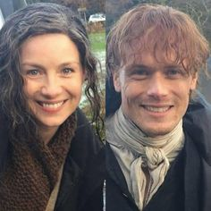 "Caitriona & Sam on set of S4 ❤️ RepostBy @sassenachwarriors: ""#Samheughan #caitrionabalfe from set today #outlanderseason4 #drumsofautumn #Jamiefraser #clairefraser credit to @FastPash on twitter"" (via #InstaRepost @AppsKottage) via ✨ @padgram ✨(http://dl.padgram.com)"