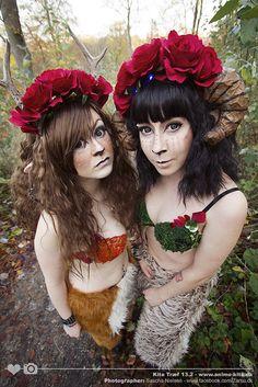 faun photoshoot   Faun Costume - Photoshoot with Zarsu. by SprinklesOnTopCos
