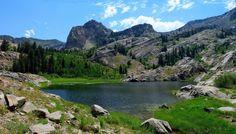 Góry, Skały, Jezioro