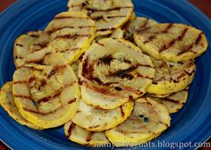 Grilled Yellow Squash!