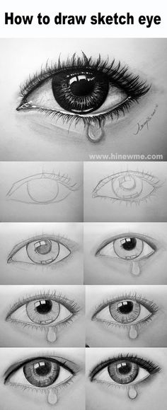 How to draw sketch eye step by step ,come to see our online class Shading Drawing, Mouth Drawing, Drawing Eyes, Realistic Pencil Drawings, Cartoon Drawings, Realistic Eye Sketch, Cartoon Eyes, Eye Drawings, Art Drawings Sketches Simple