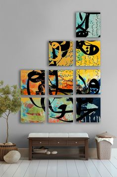 Picture boxes by artist Khalid Shahin