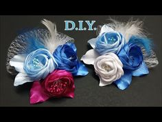 ❄ ❄ ❄ D.I.Y. Frozen Themed Bridal Flower | MyInDulzens ❄ ❄ ❄ - YouTube