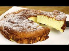 1 szklanka jogurtu i lekkie ciasto gotowe! Bez mąki! - YouTube Cake Bars, Light Cakes, Little Bites, French Toast, Deserts, Gluten Free, Cookies, Breakfast, Ethnic Recipes
