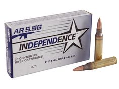 """Independence Ammunition is loaded by the premier manufacturer for the Israeli military, IMI, to NATO specifications in premium brass with an """"FC"""" head. Survival Knife, Survival Tips, Doomsday Survival, Full Metal Jacket, Survival Blanket, Weapon Of Mass Destruction, Guns And Ammo, Guide, Firearms"""