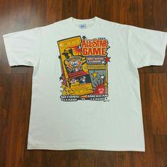 aad16a40 VTG 90s Salem Sportswear MLB 1994 All Star Game Pittsburgh Pirates Three  Rivers Stadium T-shirt XL phillies 76ers streetwear hip hop rap tee