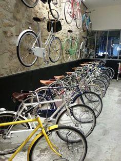 Bike Shop | Retail Design | Sports Equipment | Shop Design | En Selle Marcel - Paris / Abici bikes