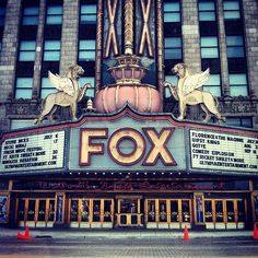 Fox Theatre in Detroit, MI