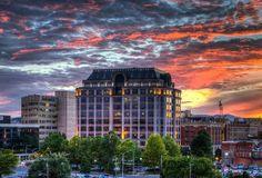 #Norfolk-Southern #Building in downtown #Roanoke, #Va.