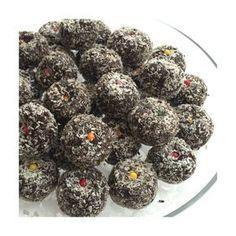 Çikolatalı Toplar-Chocolate Balls