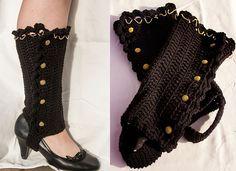 "Ravelry: ""Heels to Boots"" Leggings pattern by Manda Nicole"