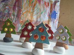 happy ceramic trees!