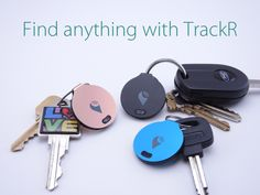 Attach TrackR to keys, wallets and more. When an item goes missing, just tap the TrackR app to make your Bluetooth tracker ring loudly. Tech Gadgets, Cool Gadgets, The Maxx, Take My Money, Things To Buy, Stuff To Buy, Cool Tech, My Guy, Inventions