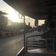 #tuktuk #sunset #ride