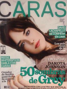 #DakotaJohnson on the cover of CARAS Magazine (Peru)