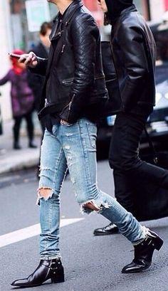 Rock 'n' Roll Style ✯ Paris Fashion Week FW 2014