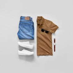 Men Casual T-Shirt Outfit 🖤 Very Attractive Casual Outfit Grid, Outfit Grid, Fashion Mode, Mens Fashion, Fashion Outfits, Style Fashion, Guy Fashion, Work Fashion, Fashion Styles, Fashion Ideas