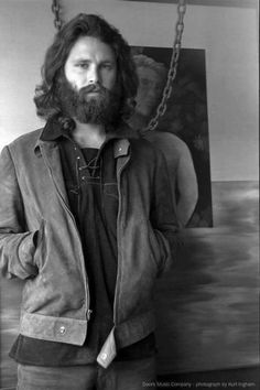 Jim Morrison was a beard pioneer in just his Heavy Metal, Ray Manzarek, The Doors Jim Morrison, The Doors Of Perception, Riders On The Storm, American Poets, Janis Joplin, Foto Art, Jimi Hendrix