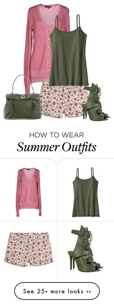 """""""shorts for fall 2"""" by cm65 on Polyvore featuring European Culture, H&M, Schutz, Patagonia and Yves Saint Laurent"""