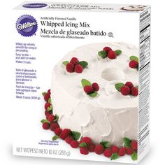 Vanilla Whipped Icing Mix Use for Homemade DQ ice cream cake?