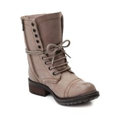 Womens Steve Madden Troopa 2 Combat Boot