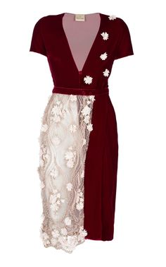 Aphrodite Wrap Dress by EZGI CINAR for Preorder on Moda Operandi