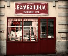This Candy Shop in the city center was founded in 1936