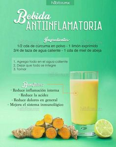 Bebida antiinflamatoria