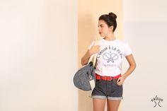 Faguo t-shirt femme l'amour à la plage www.sweetandsour.fr