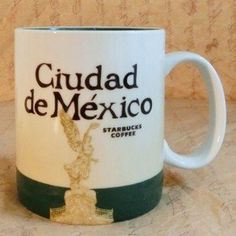 Global icon Starbucks mug straight from Mexico City (Ciudad De Mexico). New with tags. 16 Oz  Enjoy your morning coffee from this mug or give as a gift for a loved one who loves Starbucks and Mexico!