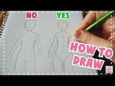 ☆ HOW TO DRAW || Female Body Tutorial ☆ - YouTube