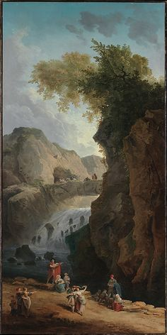 Hubert Robert (1733–1808 Paris). The Dance. The Metropolitan Museum of Art, New York.