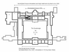Buckingham Palace floorplan
