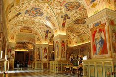 Some info about the Vatican Museums  This museum complex houses one of the world's most important collections brought together by popes over a period of four centuries, with the Sistine Chapel as its largest crowd puller.